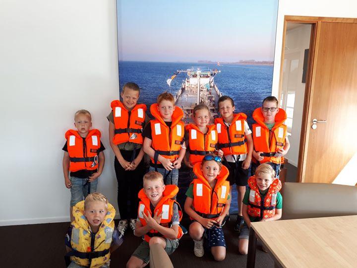 Superleuke middag met enthousiaste , nieuwsgierige kinderen !! Binnenvaart promoten…